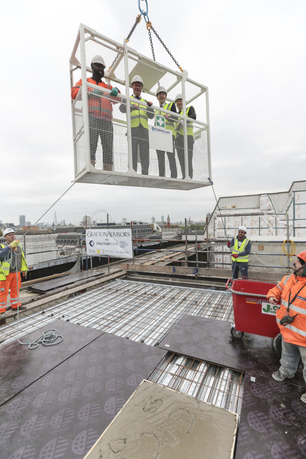 'Topping-Out' marks major milestone in transformation of 20 St James's Street
