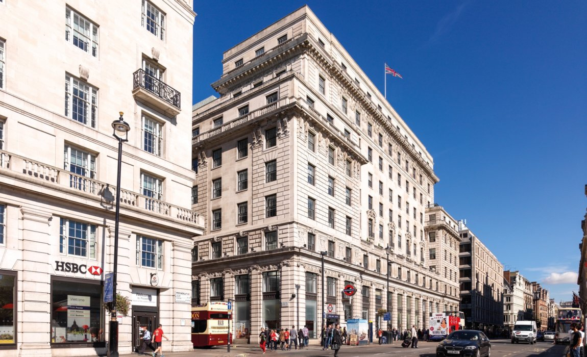 Devonshire House, 1 Mayfair Place, W1