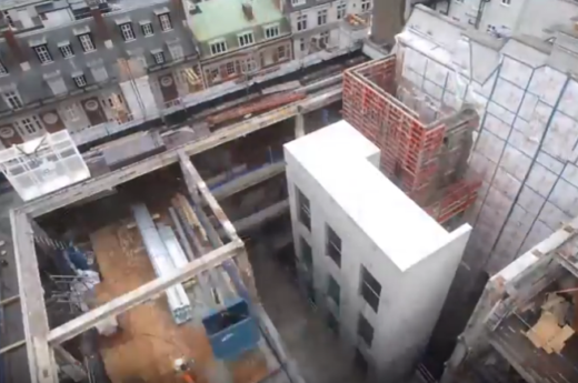 20 St James's Street - Time lapse of construction