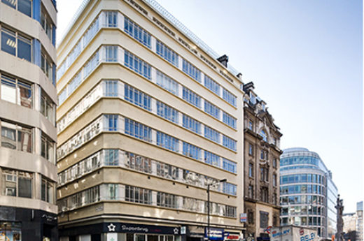Quintain acquires Kingsbourne House, 229-232 High Holborn, WC1